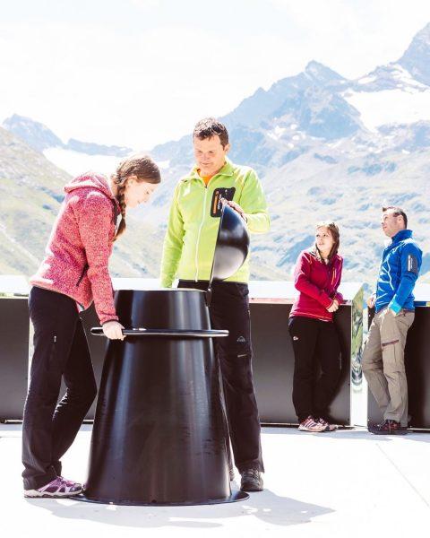Kennst Du schon da neue Kunstobjekt auf der Silvretta - das Erdenlicht? 🌍💡 ...