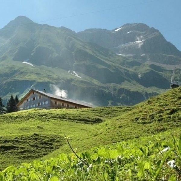 """#5 Sennalpe der KäseStrasse Bregenzerwald """"Alpe Felle"""". Familie Feurstein aus Lingenau ist während ..."""