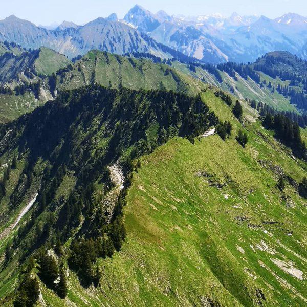 #lifeisbetterinthemountains #gratwanderung . . . #walserkamm #walsertal #bergliebe #alpenvereinvorarlberg #unserealpen #gratkraxln #vorarlbergwandern #visitvorarlberg ...