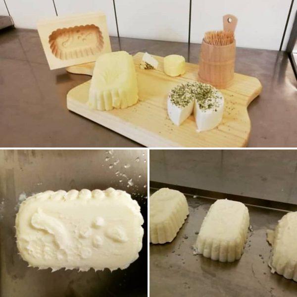 Ab Juli im Warther Hof eigene Butter von der Muh und Ziegenkäse und ...