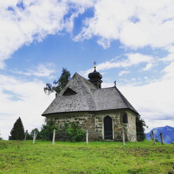 Bergkapelle #bergkapelle #vorarlberg #klausberg #bregenzerwald #kapelle #österreich #urlaub Schwarzenberg im Bregenzerwald