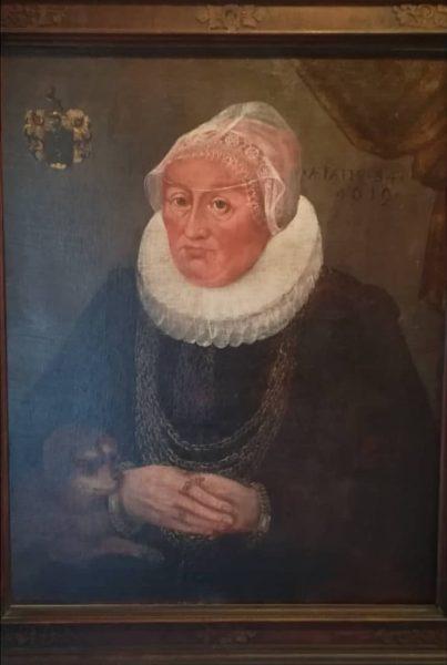 Dreiviertelporträt einer Dame 🖼️👸, angeblich
