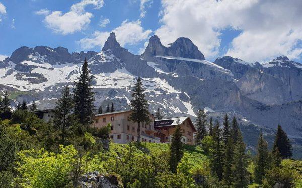 Golmer Höhenweg am vergangenen Samstag ... #golm #lindauerhütte #alpinfitness #montafon #gauertal #höhenweg #geißspitze #DreiTürme #drusenstock #sulzfluh #latschau...