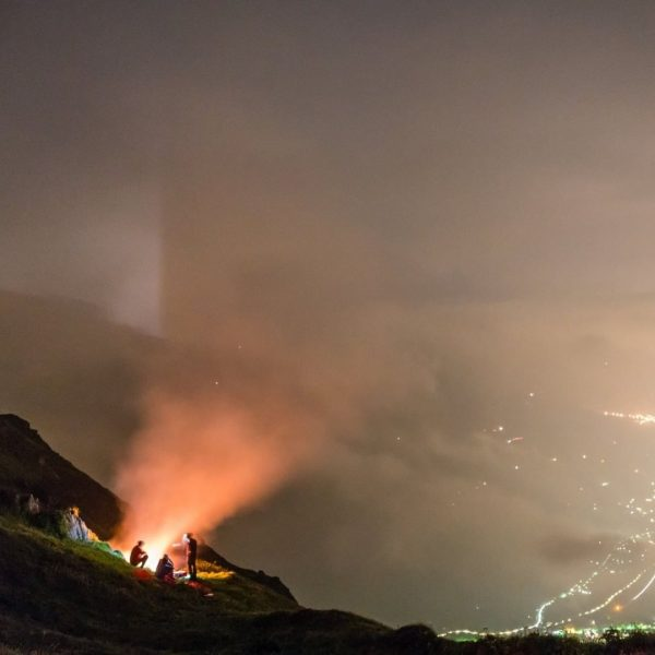 I came. I saw. Mountains on fire. Around the 21st of June - ...