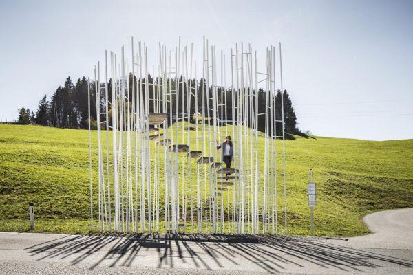 BUS:STOP Krumbach クルムバッハのバス停 In Kooperation mit dem @architekturzentrum_wien und dem Vorarlberger @vai_architektur_institut wurden ...