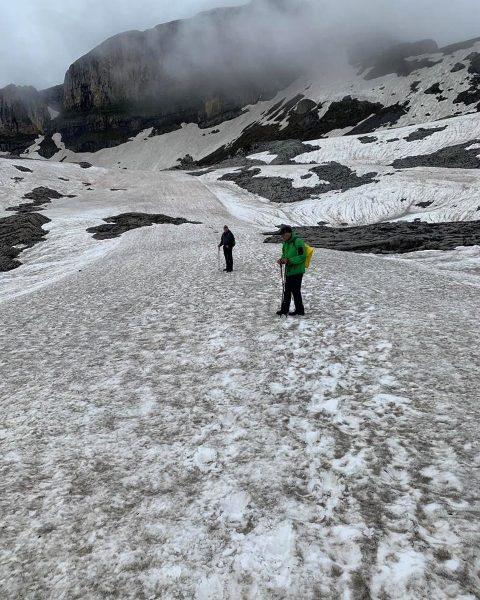 Auf zum #hahnenköpfle #gottesacker #schneefeld #wandern #hiking #alpen #alps #kleinwalsertal #hirschegg #riezlern #bergfreunde ...