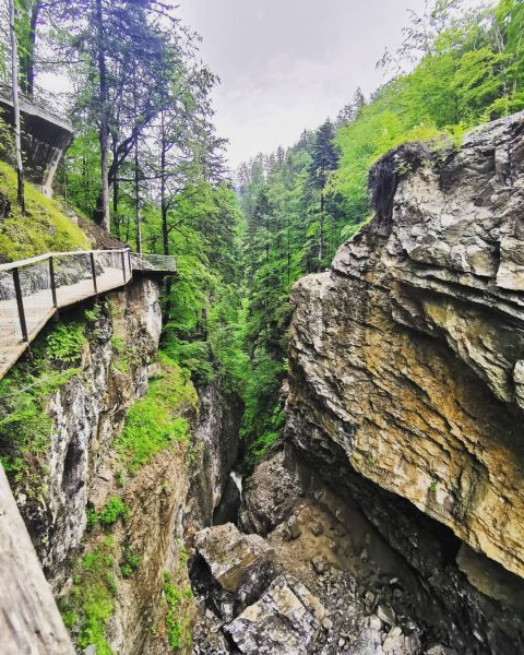 Wonderful walks on rainy days. The magnificent #rappenlochschlucht in #dornbirn. We came, we ...