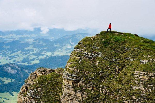 DAY 1 ✅⛰❤ #bregenzerwald #hiking #diedamskopf #wandernstattskifahren #wandern #mountain #austria #fun #goals #healthy ...