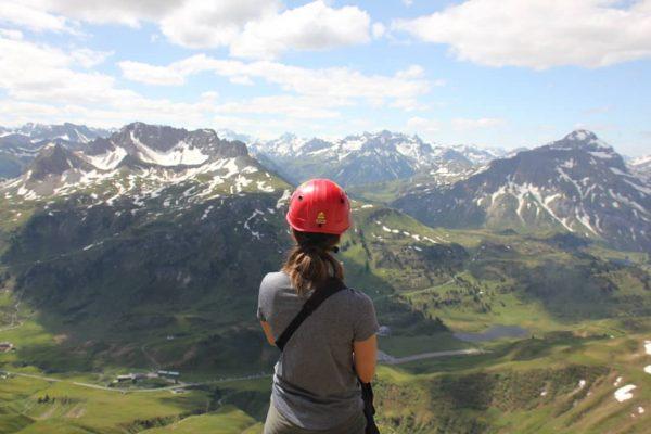 Kurzurlaub ⛰💐☀️❤ . . . #kleinwalsertal #riezlern #großerwidderstein #sun #hiking #summer #view #baad ...