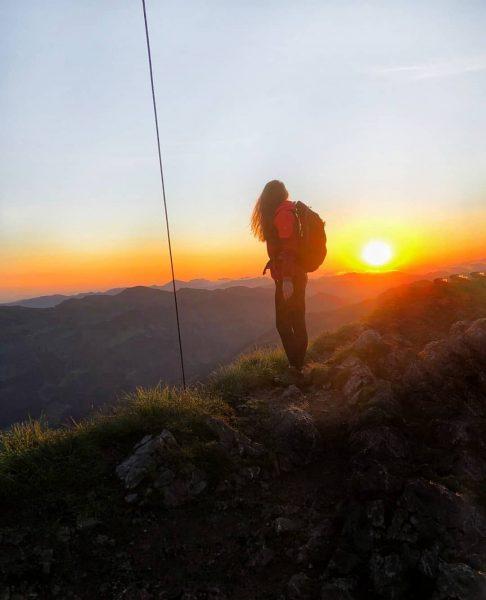 Meine Definition von Glück ⛰🔥 2044m #kanisfluh #bregenzerwaldgebirge #bregenzerwald #au #mellau #österreich #sunrise #sunrisehike #sonnenaufgang #sun #wanderung...