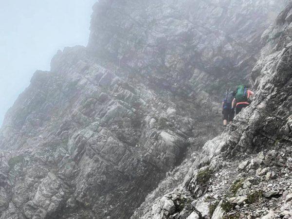 Great views in @brandnertal_tourismus despite some fog! #hiking #wandern #adventures #exploring #mountains #views ...