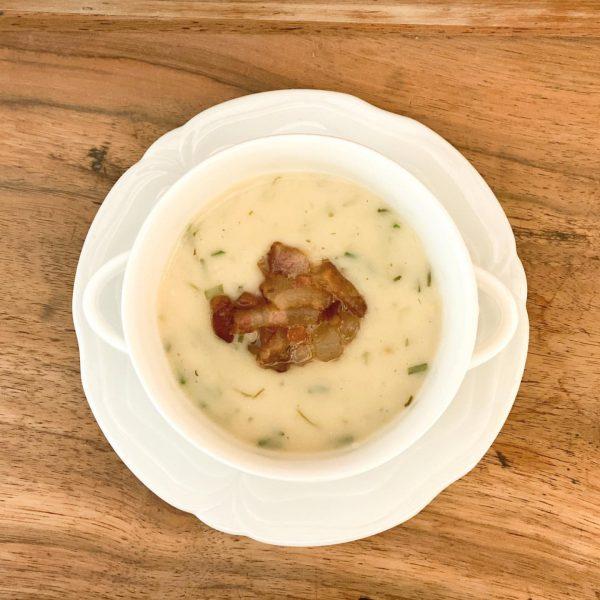 Habt ihr schon von der Krumbacher Wiesenkräuter Suppe mit Speck gehört ? Das ...
