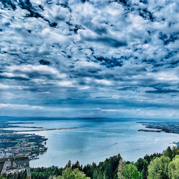 Impressive view from the Pfänder over the Lake of Constance! ⛰☀️😎 #austria🇦🇹 #visitvorarlberg ...
