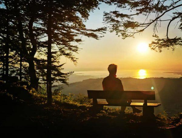 #brüggelekopf #alberschwende #bregenzerwald #vorarlberg #austria #lakeofconstance #nature #landscape #home #placetobe #sunset #whenthesungoesdown Brüggelekopf