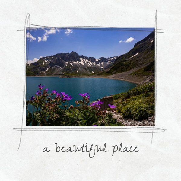 Ruhe und eine wunderschöne Landschaft haben uns an diesem Bergsee gestern umgeben. Traumhaft ...