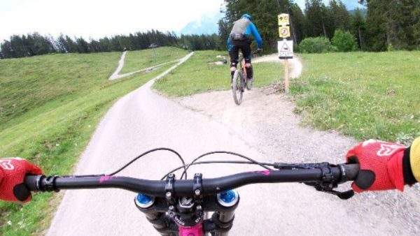 Down at bikepark Brandnertal with @jongordon23 @paulfarr66 yesterday. Some clips of chasing @jongordon23. ...