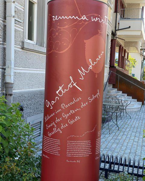 Eine von 6 Säulen , Rankweiler Gastronomie wir stehen für Zusammenhalt, Ideen, Gemeinschaft ...