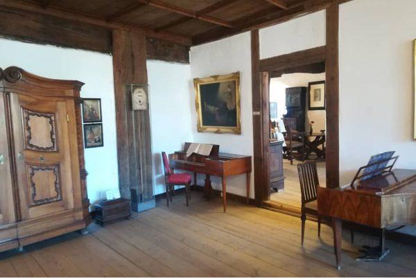 Im Schattenburgmuseum 🏰 wurde und wird musiziert🎶. Feldkirch hat eine lange Musiktradition🎼. Einige ...