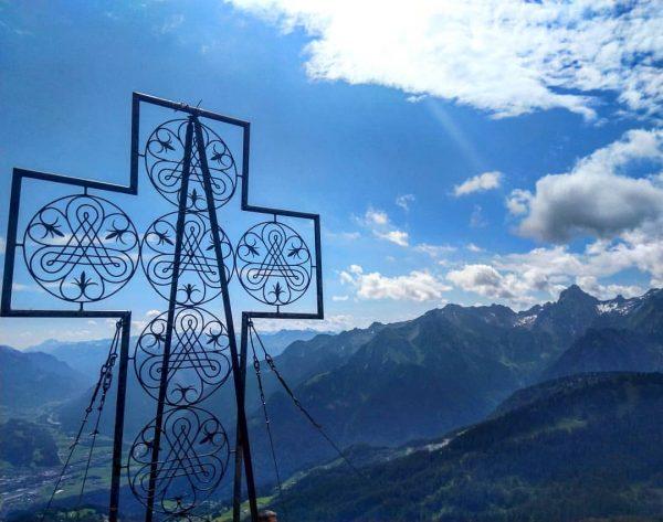 Einer meiner Lieblingsberge: #mondspitze 1967 m #wandernmachtglücklich #visitvorarlberg #draußen