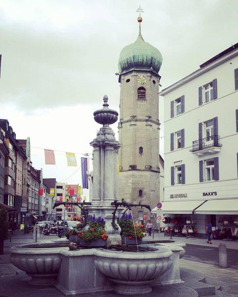 #bregenz #vorarlberg #österreich🇦🇹 #bodensee #church #kirche #fountain #altstadt #oldtown #austria🇦🇹 Bregenz