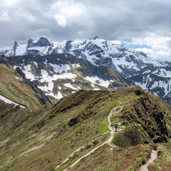 I came. I saw. Summit after summit. Golmer Höhenweg: With the Golm cable car you can save...