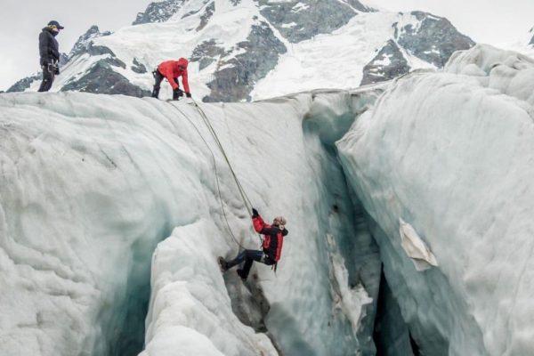 Ankündigung: Gletscherkurs mit Besteigung des Piz Buin ▶️ Termin: 17.07.2020 - 19.07.2020 Gemeinsam ...