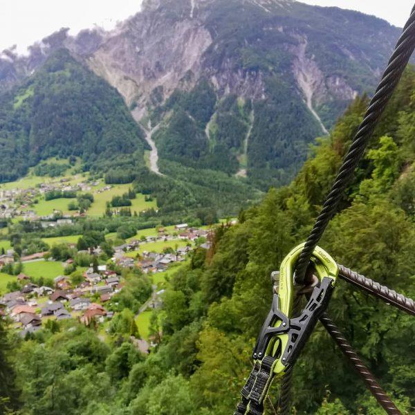 ⛰️ . . . #klettersteig #viaferrata #climbing #klettern #kraxeln #nursteilistgeil #natureisourplayground #steigauf #onewayup ...