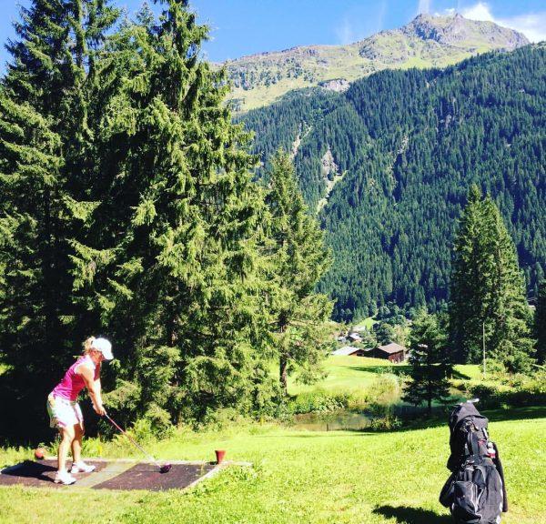 #love #golf #love #partenen 🏌️♀️⛳️☀️😎 Golfclub Silvretta