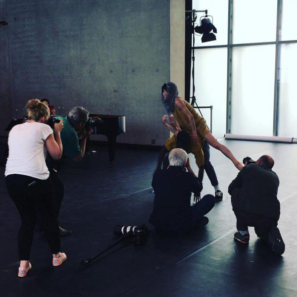 Rehearsal for the photographers #kunsthausbregenz #visitbregenz #bregenzerfrühling
