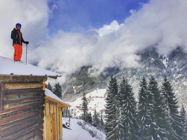 My Playground @silvrettamontafon 😎... @hellyhansen @zagskis @spaalpenrose Werbung /Markierung Sankt Gallenkirch, Vorarlberg, Austria