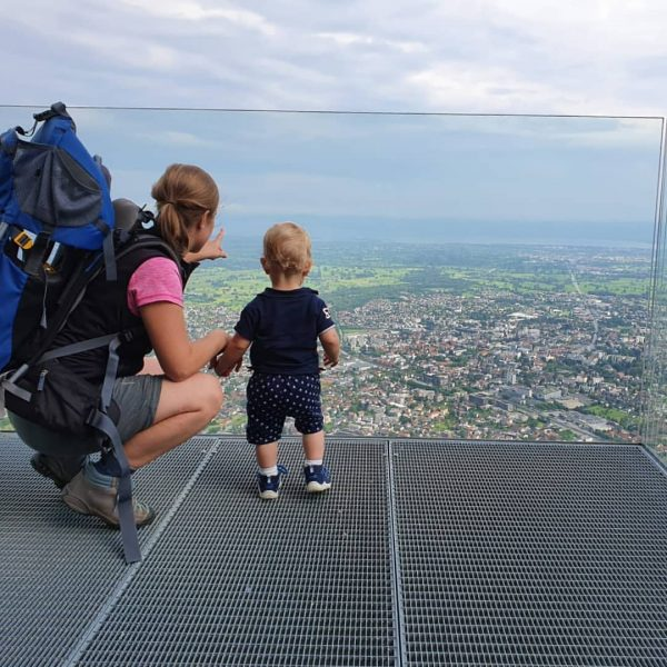 Heimatkunde von oben. . #visitvorarlberg #karrendornbirn #wandertag #weitsicht #bodensee #withmyboys #austria #exploration #familygoals ...