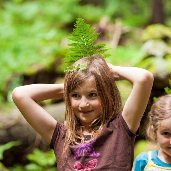 Ich kam. Ich sah. Kinder in der Natur. In den Vorarlberger fam Hotels ...