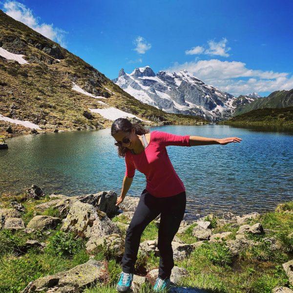 Vitamin See 💦🤩 #bergsee #dreitürme #beautiful #landscape #sunshine #gauertal #latschau #montafon #vorarlberg #austria #alps #mountains #outdoor #hiking...
