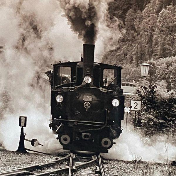 Das waren noch Zeiten ... #wälderbähnle #doren #nostalgie #dampflock #bregenzerwald