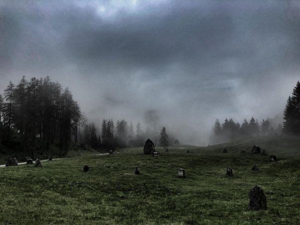 Bei den Steinkreisen auf dem Hochplateau Tschengla beim Bürserberg. . #wandern #steinkreise #bürserberg ...