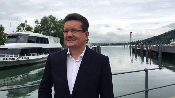 Start der Kursschifffahrt ab Hafen Bregenz