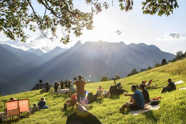 Vorarlberger Kulturpicknick - Ein kleiner, feiner Kultursommer von Juli bis September am See, ...