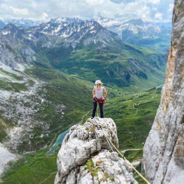 Ich kam. Ich sah. Und war begeistert. Erlebe mit den Vorarlberger Bergpartnern Deine ...
