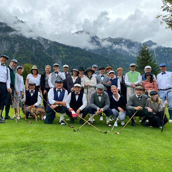 A great two days Hickory Golf event at Bludenz (A) #enjoythewalk #swisshickorygolf #swisshickorygolfclub ...