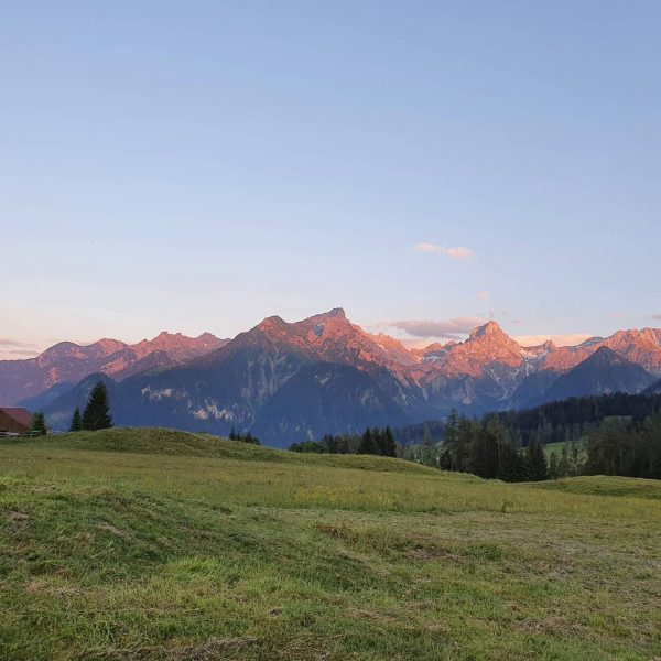 #loischkopf #eveningwalk #beautifulnature #summertime #wonderfulview😍 #amazing Bürserberg