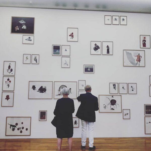 Gelungene Vernissage in der Galerie @allerart_bludenz +++ autonarrativ +++ Sophie Thelen (A) Christian ...
