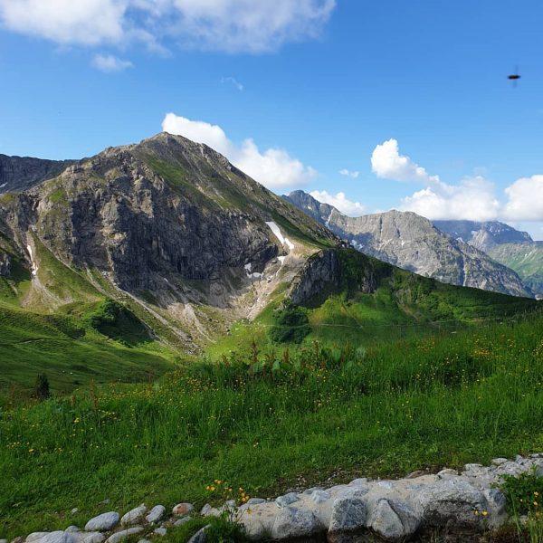 #kleinwalsertal #walser klettersteig #Kanzelwand