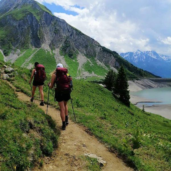 Hiking ⛰️ . #lechquellenrunde #austria #lechquellengebirge #formarinsee #spullersee #6etappen #biberacherhütte #göppingerhütte #freiburgerhütte #ravensburgerhütte ...