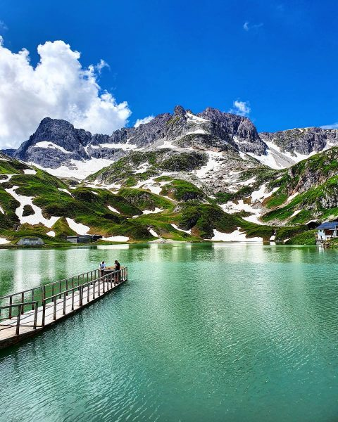 Summer in the mountains... 😍 what a dream! 🤩 . . #panorama #mountainlake ...