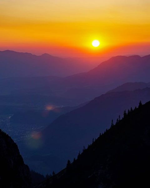 After work hike😍 . . . #montafon #austria #alps #vorarlberg #mountains #photography #discover ...