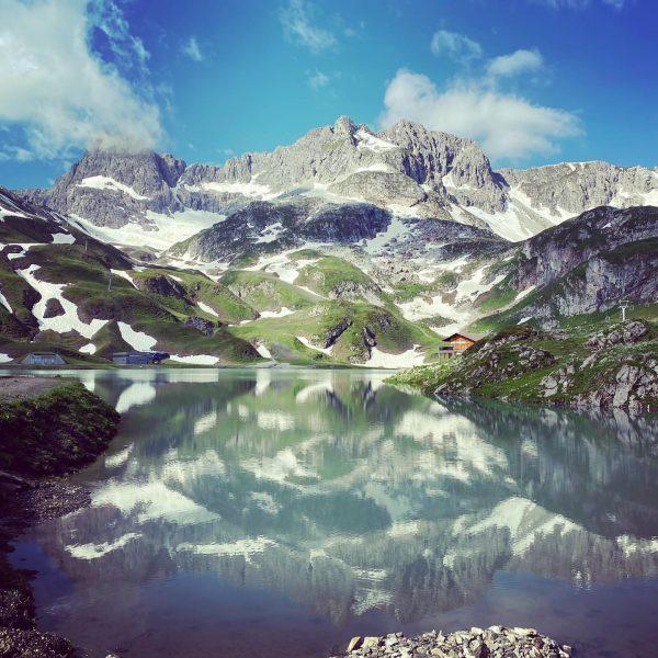 #mountainlake #goodtime #trekking Lech, Vorarlberg, Austria