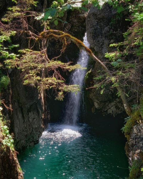 Schwarzwasserbach - Wasserfall #kleinwalsertal #riezlern #wanderurlauber #erholungpur #schwarzwasserbach #wasserfall