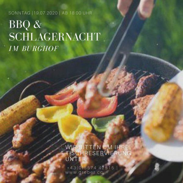 BBQ & SCHLAGERNACHT . Das Sommererlebnis auf der Burg Gebhardsberg 💃🏼🕺🏽 . Genießen ...