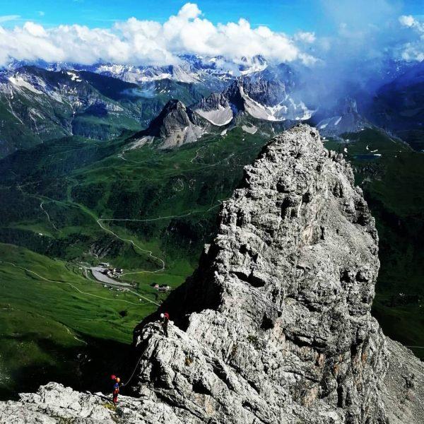 Klettern auf dem Großen Widderstein #Widderstein #mountains #landscape #austria #Gipfel #wolkenStimmung #hiking #wandern ...