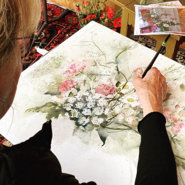 Auch dieses Jahr wird wieder gemalt. Die Künstler Heinz Hofer und @ingridbuchthal zaubern ...